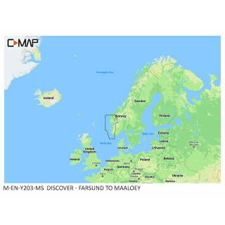 C-MAP DISCOVER Farsund to Maaloey