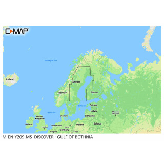 C-MAP DISCOVER Gulf of Bothnia