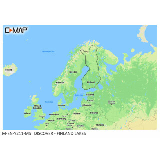 C-MAP DISCOVER Finland Lakes