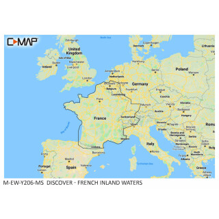 C-MAP DISCOVER French Inland Waters