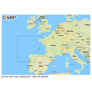 C-MAP DISCOVER Bay of Biscay