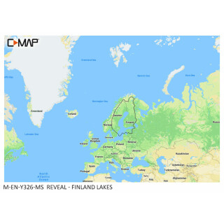 C-MAP REVEAL Finland Lakes